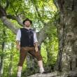 Stock Photo: Traditional standing Bavarian man