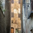 Alley San Gimignano — Stock Photo
