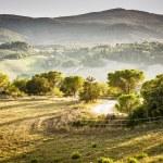 Landscape Volterra — Stock Photo