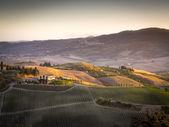 Landscape near Pienza — Stock Photo