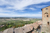 View from Montepulciano — Stock Photo