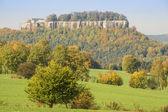 Sakson İsviçre kale konigstein — Stok fotoğraf