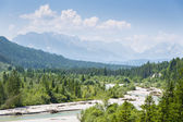 Landscape Austrian Alps — Stock Photo
