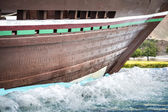 Detail dhow Sohar in Muscat — Stock Photo