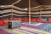 Tent Desert Camp Oman — Stock Photo
