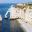 Alabaster coast Normandy — Stock Photo