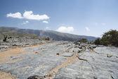 Rocks Jebel Shams — Stock Photo