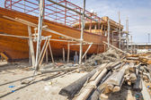 Shipbuilding Oman — Stock Photo