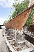 Shipbuilding Oman — Stock Photo