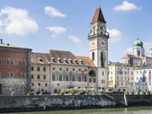 City Hall Passau — Stock Photo