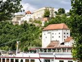Veste Oberhaus Passau — Zdjęcie stockowe
