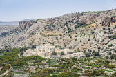 Oman Saiq Plateau — Stock Photo