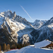French Alps at Chamonix — 图库照片