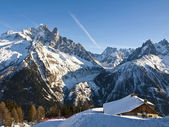 French Alps at Chamonix — Stock Photo
