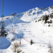 Ski Lift in French Alps — Stock Photo #13439065