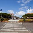 The Central Square of Lacanau-Ocean — Stock Photo #13500228
