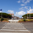 The Central Square of Lacanau-Ocean — Stock Photo