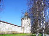 Kirillo-Belozersky Monastery in spring — Stock Photo
