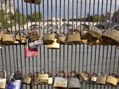 Love padlocks — Stockfoto