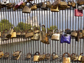 Love padlocks — Foto Stock