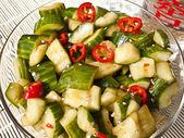 Chinese Cucumber Salad — Stock Photo