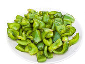 Fried Green Pepper Suzhou Style — Stock Photo
