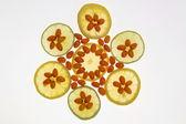 Medicinal orange fruit and lemon — Stock Photo
