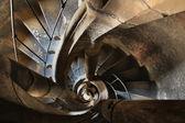 каменная лестница — Стоковое фото
