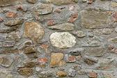 The historic city wall strength — Stock Photo