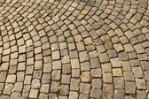 The cobbles — Stock Photo