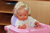 The baby doll — Stock Photo