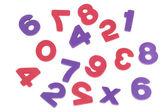 Os números confusos — Foto Stock