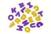 Desconcertado letras — Foto de Stock