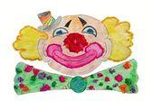 Cartoon clown — Stock Photo