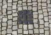 Decorate con pavimentazione di città — Foto Stock