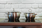 Two pots — Stock Photo