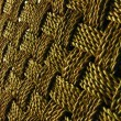 Wickerwork background detail — Stock Photo
