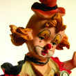 Clown figurine — Stock Photo