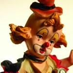 Clown figurine — Stock Photo