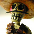 Traditional Mexican skeletal  men — Stockfoto