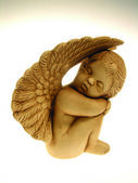 Sleeping cherub — Foto Stock