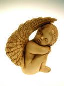 Sleeping cherub — Stock Photo