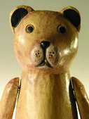 Wooden bear — Stock Photo