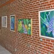 Art gallery view with pictures — Stock Photo #33781451