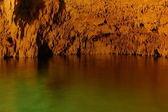 Roches et lac — Photo
