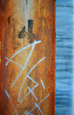 Rusty pole abstract — Stockfoto