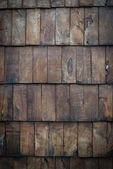 Dark wood panelling — Stock Photo
