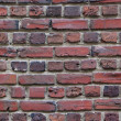 Постер, плакат: Old red brick wall