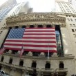 NYSE fish eye - Stock Photo