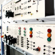 Control panels in an electronics lab - Lizenzfreies Foto